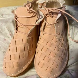 Shoes - These Leather Type Shoes are So Cute! Size 40 or 8